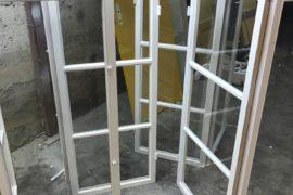 Fönster med spröjs